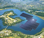 Photo:KYOCERA TCL Solar Begins Construction on 13.7MW Floating Solar Power Plant