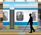 Photo:KYOCERA Develops Smart Cane for Visually Impaired