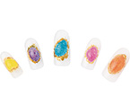 Photo:KYOCERA's Kyoto Opal Sparkles in New Glitters by Nail Labo