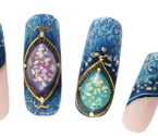 "Photo:KYOCERA's ""Kyoto Opal"" Sparkles in KOKOIST's New Nail Gel"