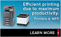 LEARN MORE: Link to Document Imaging Equipment (KYOCERA Document Solutions)