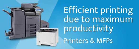 Efficient printing due to maximum productivity Printers & MFPs