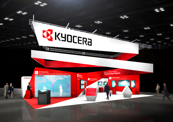Photo:Kyocera Booth