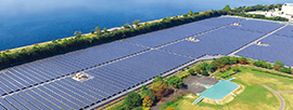 Solar Power Generating Systems for Public / Industrial Use