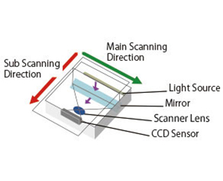 Structure of Scanner