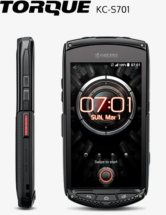 TORQUE KC-S701 | Mobile Phones - Android 4G LTE Smartphones | KYOCERA